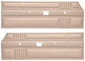 1967 Plymouth Belvedere Ii Front Door Panel Pair