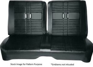 1968 Plymouth Road Runner Satellite Split Bench Front Seat Cover
