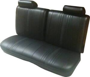 1969 1971 Chevy Ii Nova Ss Std Custom Interior 2dr Bench Front Seat Cover