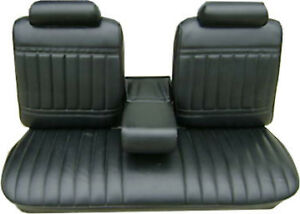 1971 72 Buick Skylark Custom Gs 350 Bench With Armrest Front Seat Cover
