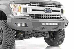 Rough Country Ford Heavy duty Front Led Bumper 18 19 F 150