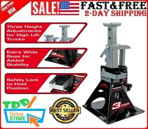 All In One 3 Ton Bottle Jack With Jack Stand Trucks Off Road Vehicles Jacks New