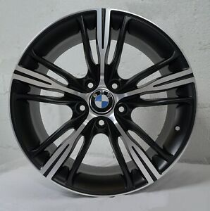 18 Inch Matte Black Rims Fits Bmw 330ci 2001 2006 Set 4 Wheels