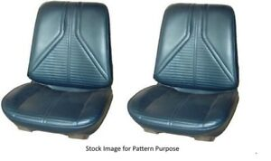 1967 Buick Skylark Gs Special Deluxe Bucket Front Seat Cover Pair