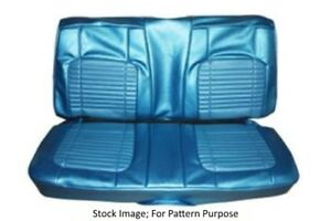 1970 Dodge Charger 500 R t Coupe Rear Seat Cover