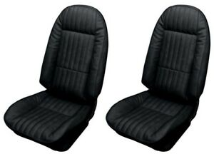 1973 1974 Chevrolet Nova Custom Bucket Front Seat Cover Pair