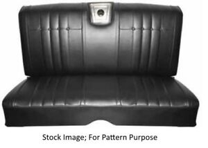 1965 Chevrolet Impala Coupe Rear Seat Cover