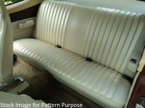 1973 Dodge Dart Sport 340 Plymouth Duster 340 Hardtop Rear Seat Cover