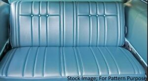 1965 Chevy Impala 4dr Station Wagon Rear Seat Cover