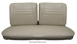 1965 Chevrolet Impala Split Bench Front Seat Cover