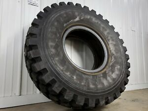14 00 R20 Michelin Xzl 49 Military 5 Ton 6x6 Mud Truck Tires In Nos Condition