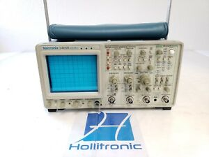 Tektronix Oscilloscope 2465b 4 Channels 400 Mhz