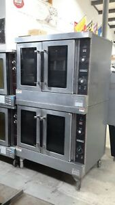 Used Hobart Dec5 3 Phase Double deck Electric Convection Oven