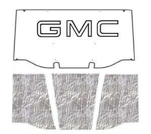 1969 1970 Gmc Truck Under Hood Cover With G 001 Gmc