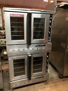 Blodgett Dfg100 Es Dbl Full size Double Stack Dual Flow Gas Convection Oven