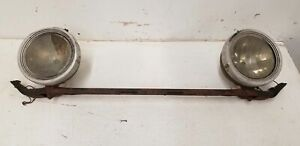 1930 S Buick Headlight Bar Brown Universal