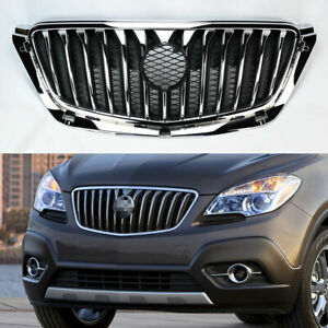 Crome Black Front Replacement Upper Hood Grill For Buick Encore 2013 2016