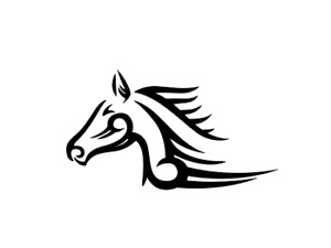 Tribal Horse Rancher Cowboy Decal Sticker For Car Truck Suv