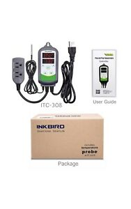 Inkbird Itc 308 Digital Temperature Controller Thermostat Switch 110v Heater Fan
