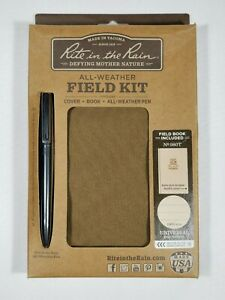Rite In The Rain 946 kit All weather Universal Notebook Kit Green tan 4x6 New