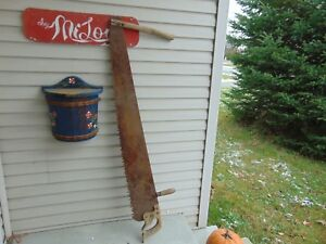 Antique Saw 54 Very Nice Chalet Decor 5154