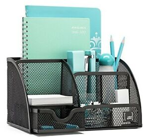 Mindspace Office Desk Organizer With 6 Compartments Drawer The Mesh Collecti