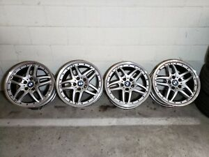 Bmw Style 71 Rims Wheels 2 Piece Staggered 18 Inch 18