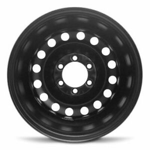 Set 4 New Wheels 17x7 5 Inch Steel Rim Fits 2007 2014 Toyota Fj Cruiser Black