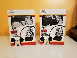 Disney Mickey Mouse Car Truck Front Seat Covers