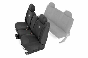 Rough Country Black Neoprene Seat Covers For 99 06 Chevy Gmc 1500 First Row