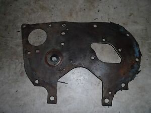 International 574 Tractor Front Engine Plate