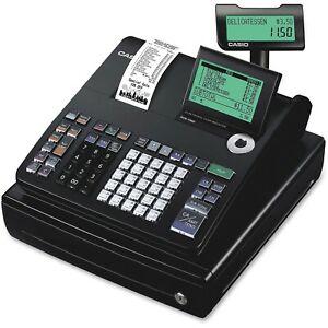 Casio Electronic Cash Register Pcr t500 3000 Programmable Keyed Cash Drawer New