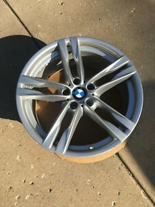 20 x9 Oem Bmw 373m Wheel F10 F12 F13 650i 640i 550i 535i 528i Rear Wheel