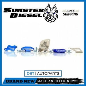 Sinister Diesel Egr Delete Kit For Gm Duramax 2007 5 2010 6 6l Lmm