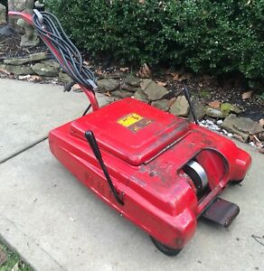Vtg Hunter 125b Tire Spinner Portable Wheel Spin Balancer W Weights