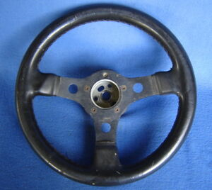 Grant Gt 13 Steering Wheel 3 Spoke Black Hot Rat Rod Racing Empi 10749 Hub