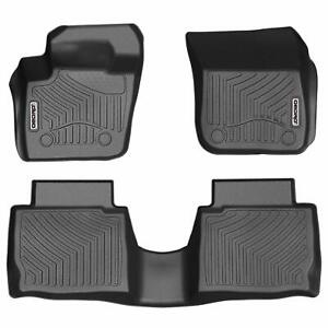 Oedro All Weather Unique Tpe Floor Mats Liners Fit For 2013 2016 Ford Fusion