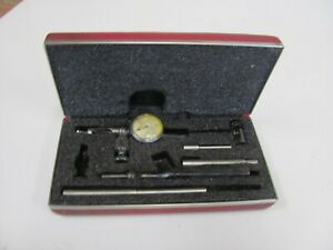Starrett No 711 Last Word Dial Indicator 0005 W Accessories