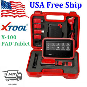Usa Ship Xtool X 100 Pad Tablet Oil Reset Auto Programmer With Eeprom Adapter
