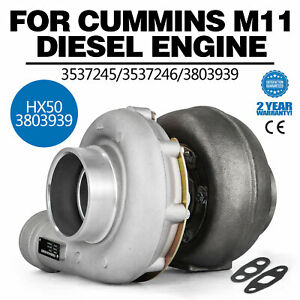 Ty Hx50 3537245 3537246 3803939 Turbocharger Turbo For M11 Diesel Engine Cheap