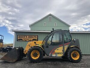 2008 Dieci 25 6 Apollo 4x4 Telehandler With Bucket Enclosed Low Cost Shipping