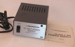 Micronta 22 127d Regulated 12 Volt Power Supply 120 Vac To 12 Vdc