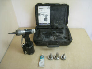 Wirsbo Pneumatic Expander Tool Kit With 1 2 3 4 1 Expansion Heads