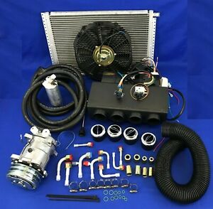 A c Kit Universal Underdash Evaporator 404 0dc Heat And Cool H c Elec Harness