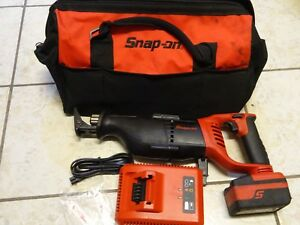 Snap On 18v Cordless Reciprocating Saw Ctrs8850