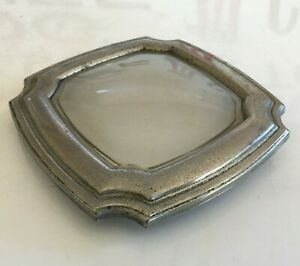 Antique Vintage Art Deco Car Courtesy Dome Light Frosted Glass