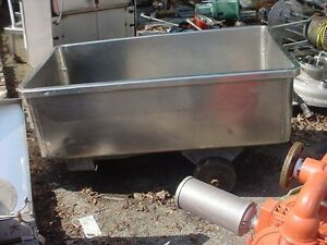 100 Gallon Stainless Steel Tote Tank Food Grade