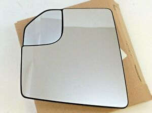 2015 2018 Ford F 150 Lh Driver Side View Mirror Glass W Spotter New Oem