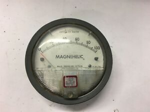 Magnehelic 2100c Pressure Gauge 0 100 Of Water
