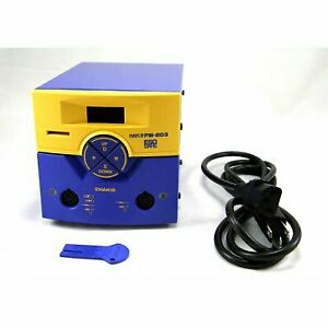 Hakko C1551 Dual Port Soldering Station fm 203 Without Tools
